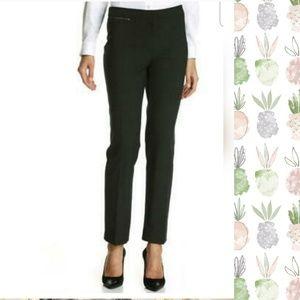 NWT Ellen Tracy Betty Slim Ankle Pants